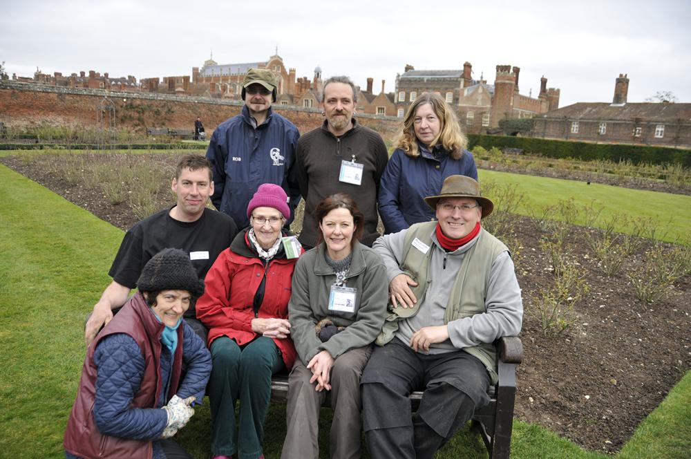 HRG volunteers at Hampton Court