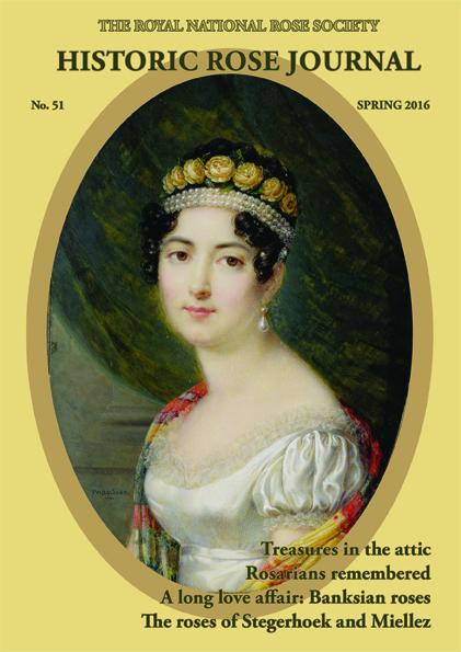 Historic roses Spring 2016 journal