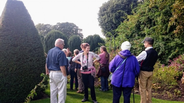HRG visit to hinton Ampner