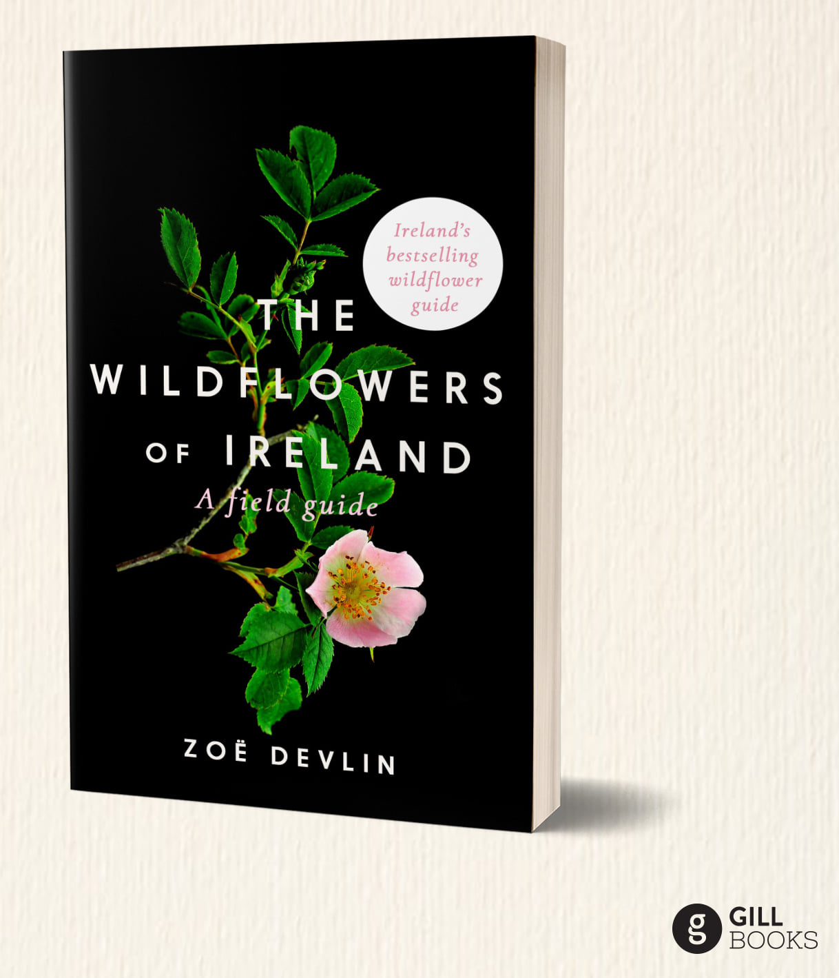 Wildflowers of Ireland book cover